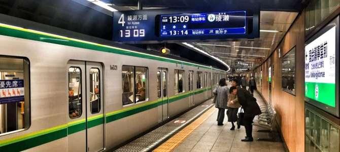 Mit der Metro durch Tokio
