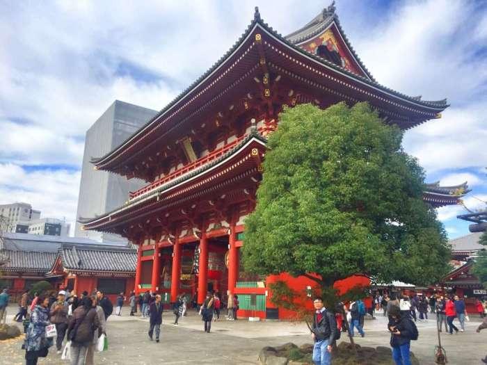Der Tempelkomplex