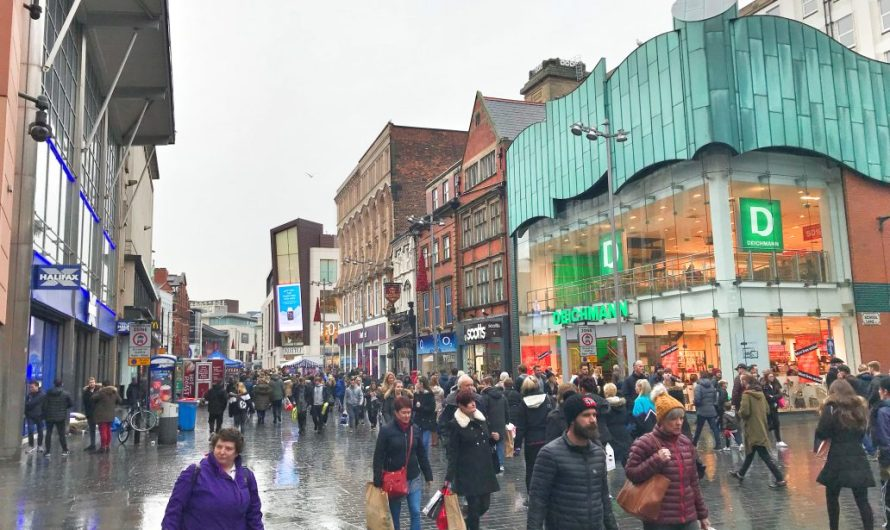Shopping in Liverpool