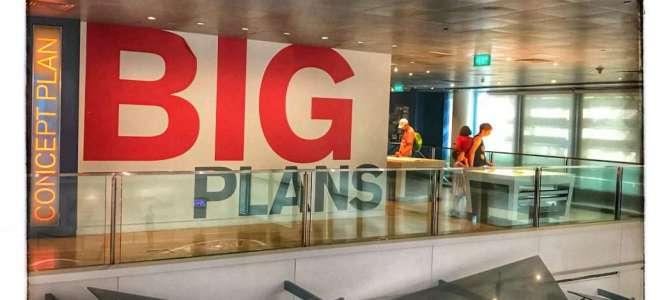 Plan für die Zukunft – die City Gallery Singapur