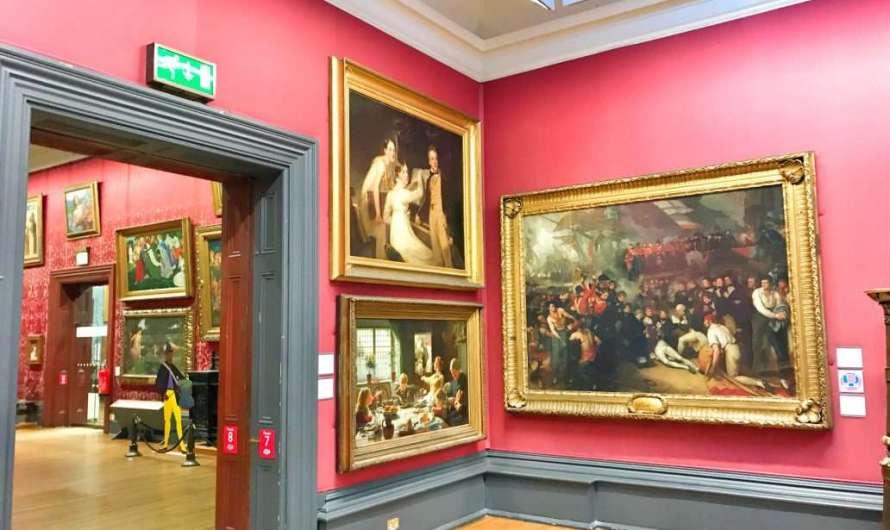 Die Walker Art Gallery in Liverpool
