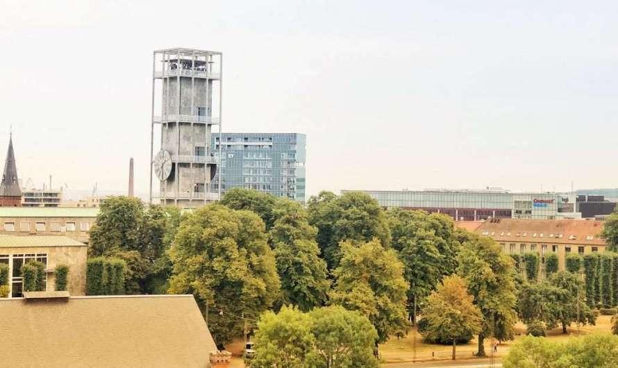Das Rathaus in Aarhus – Bauhaus-Architektur von Arne Jacobsen