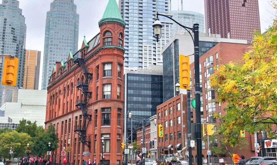 Das Flatiron-Gebäude in Toronto