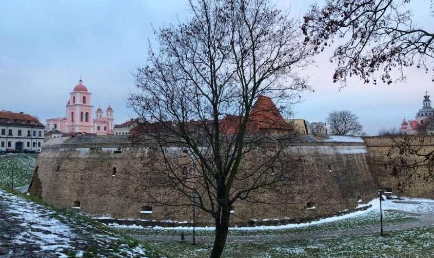 Die Bastei in Vilnius