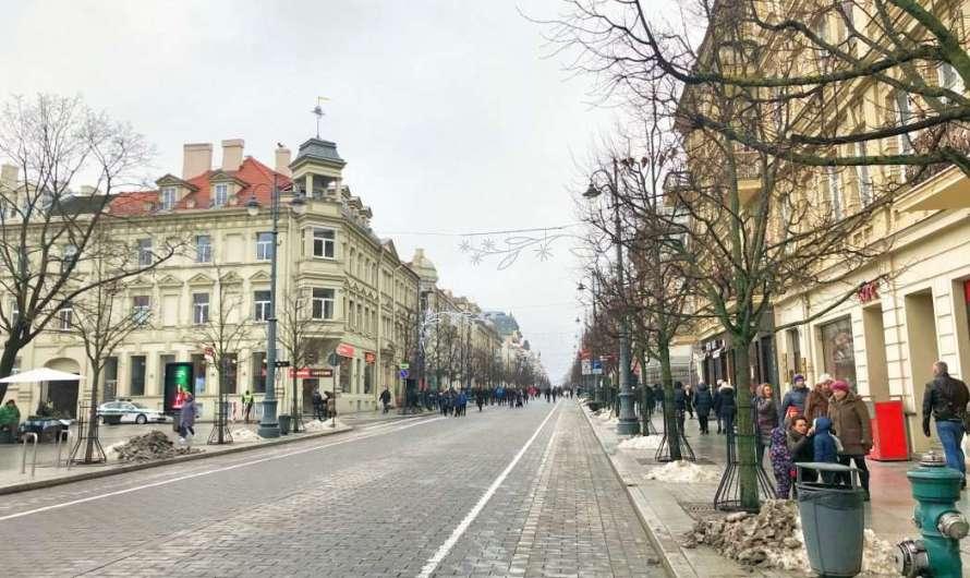 Gediminos Prospekt – die Prachtstraße in Vilnius