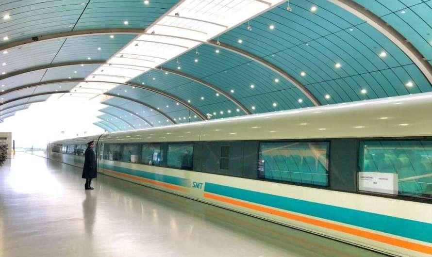 Der Transrapid in Shanghai