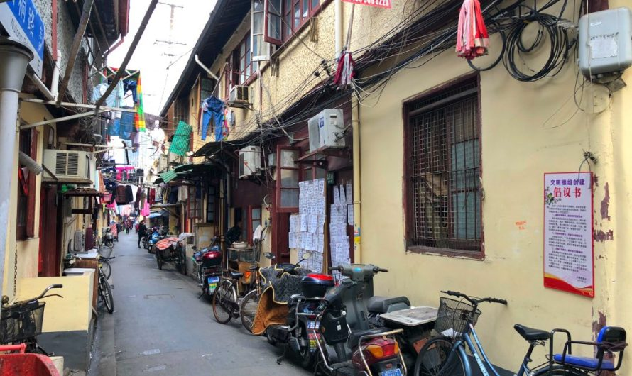 Die Altstadt in Shanghai