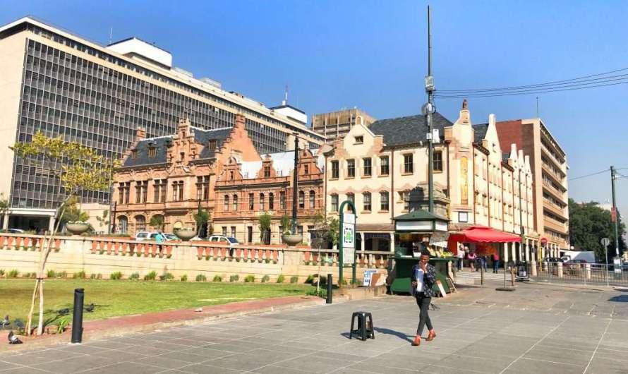 Der Church Square in Pretoria