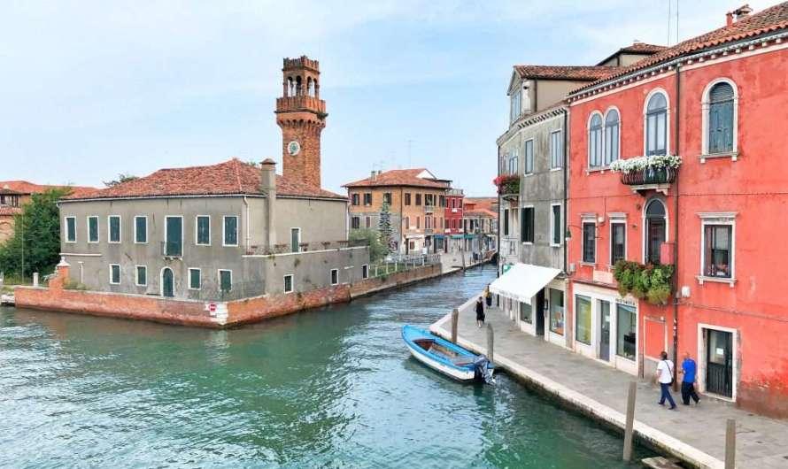 Die Insel Murano und das Glas
