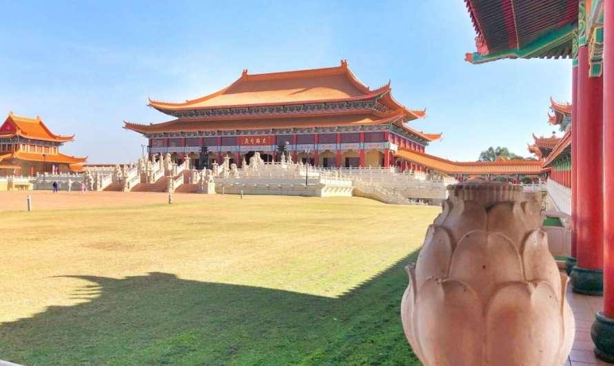 Nan Hua Tempel – ein Stück China mitten in Südafrika