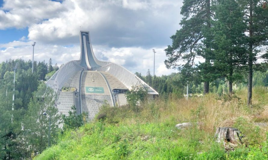 Zum Holmenkollen in Oslo