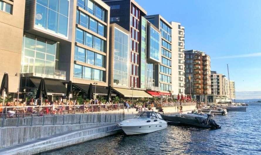 Das neue Hafenviertel in Oslo
