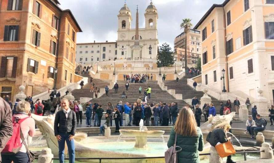 Wieso heißt die Spanische Treppe in Rom so?