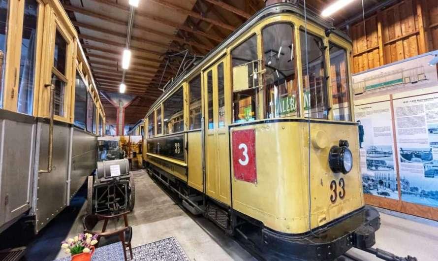 Das Straßenbahn-Museum in Trondheim