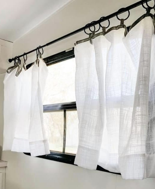 how to replace curtains in an rv