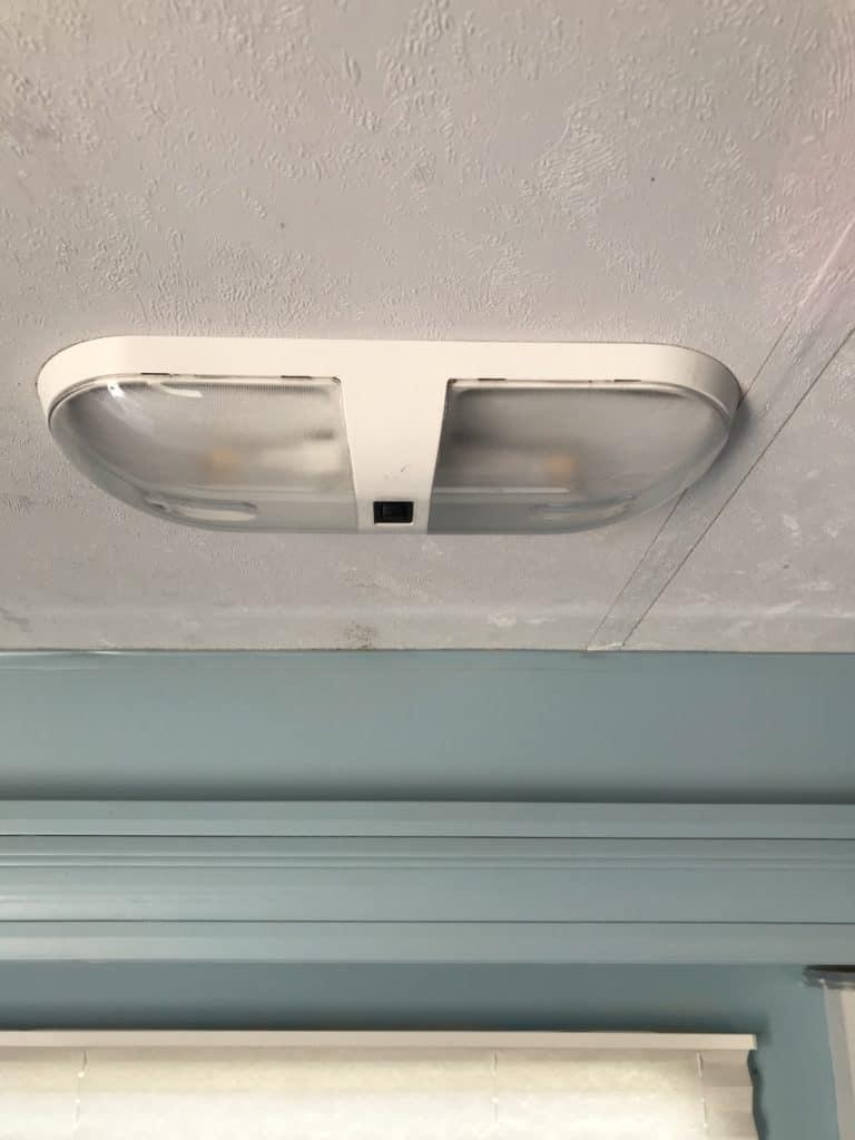 how to update lighting in your camper