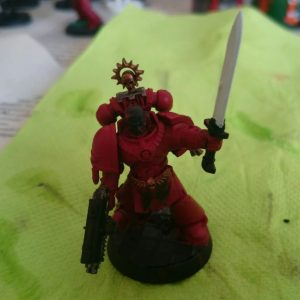 The sword is then painted  with Celestra Grey
