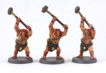 Guerriers Pictes au complet