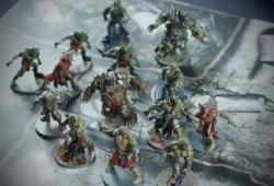Zombicide Green Horde : Peinture du jeu
