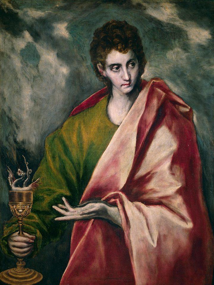 Saint Jean l'évangeliste (El Greco)