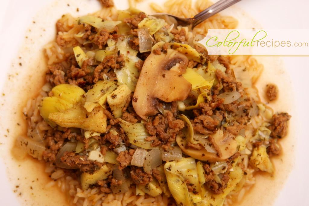Artichoke Mushroom Beef Stew