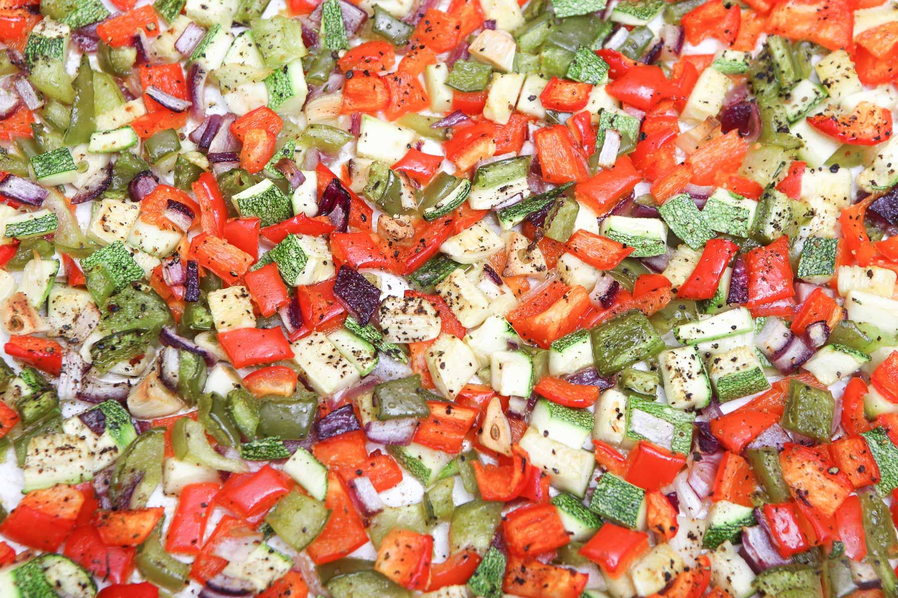 Rosted Veggie Quinoa Pilaf