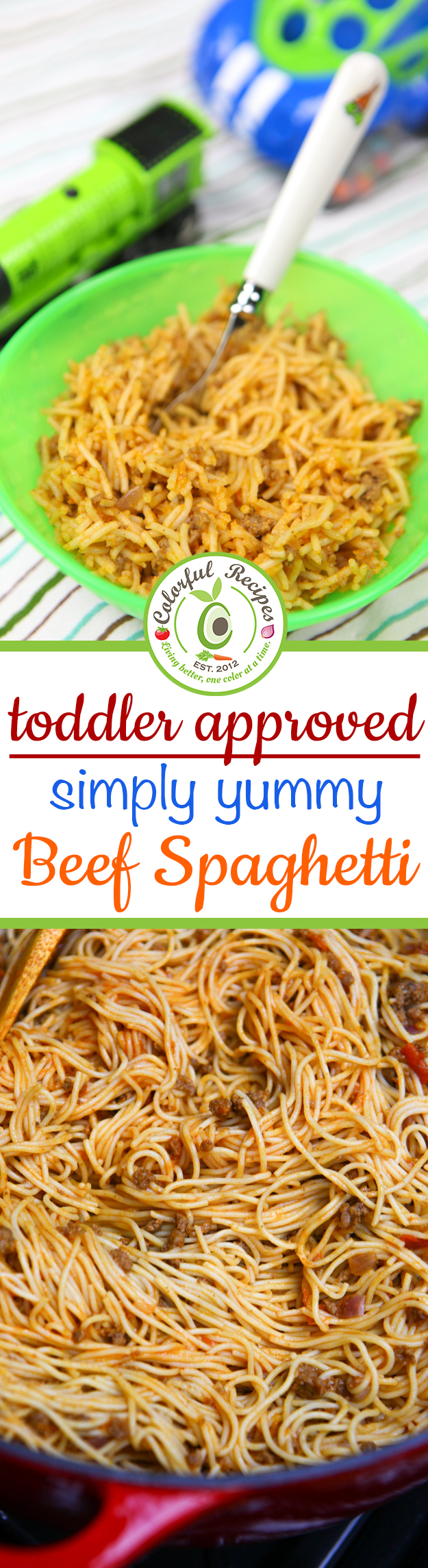 Toddler Approved Simple Beef Spaghetti