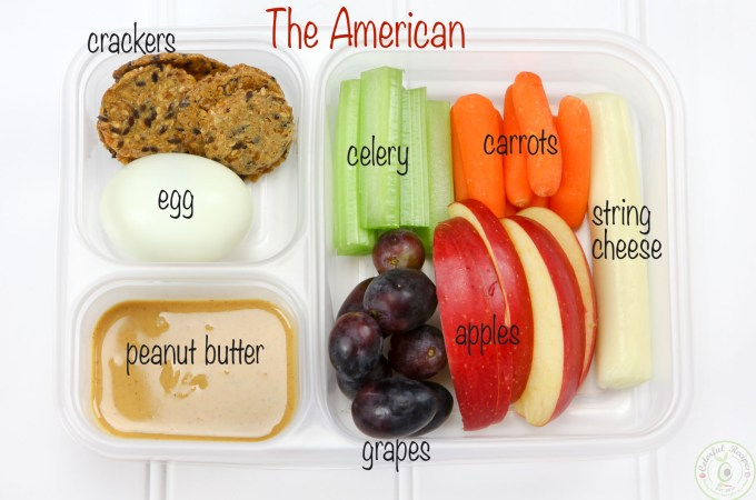 The American Protein Bento Snack Box Idea