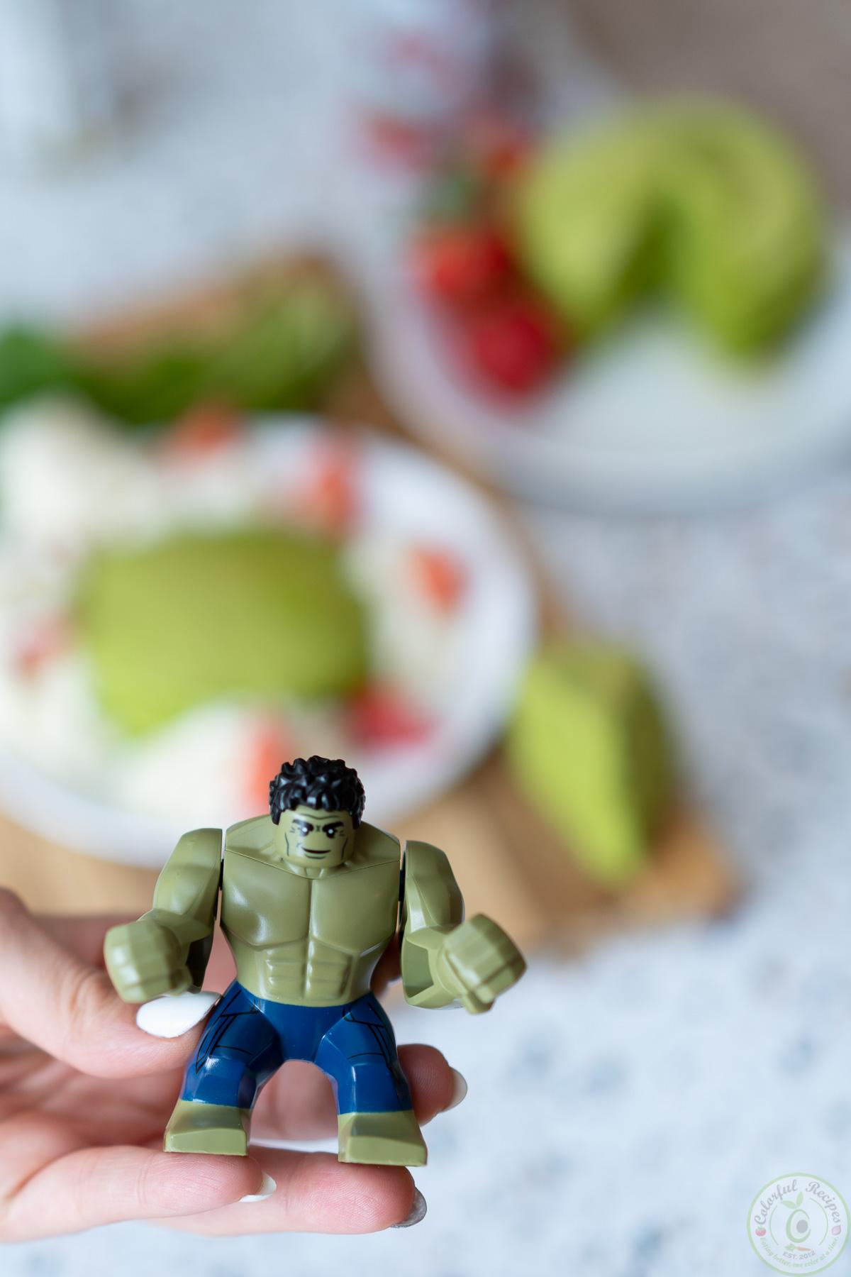 hulk pancake recipe