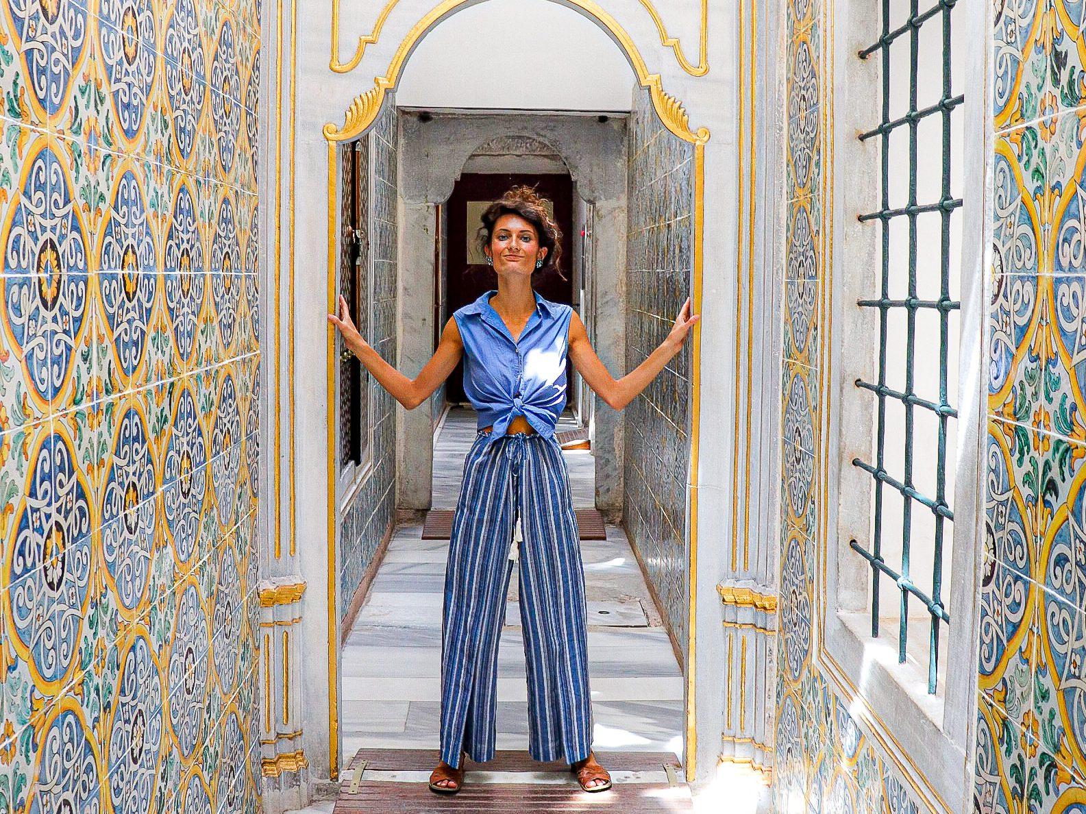Topkapi Palace Harem. Istanbul, Turkey