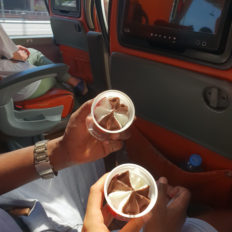 Bus Ride in Turkey