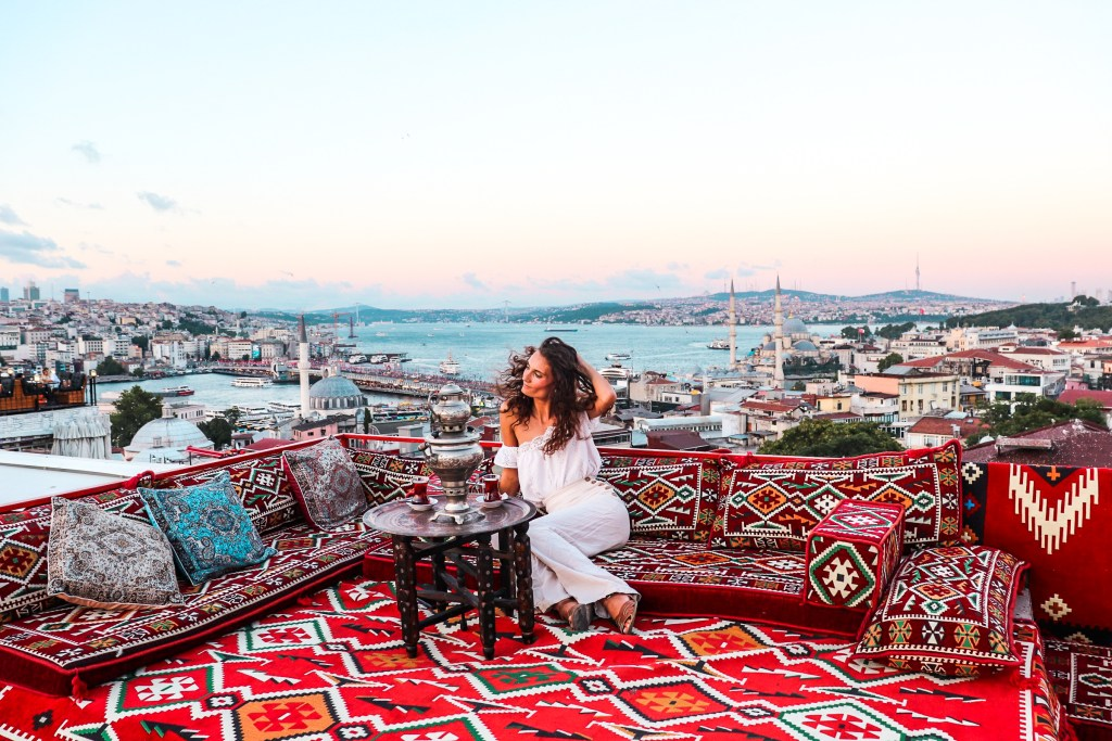 Sunset Rooftop Istanbul