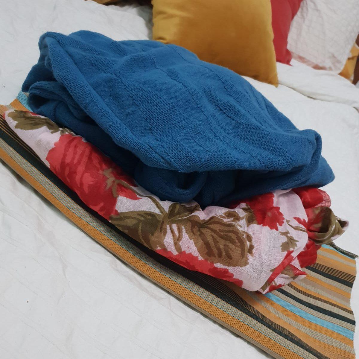 Fabric Pile - Fashion Design
