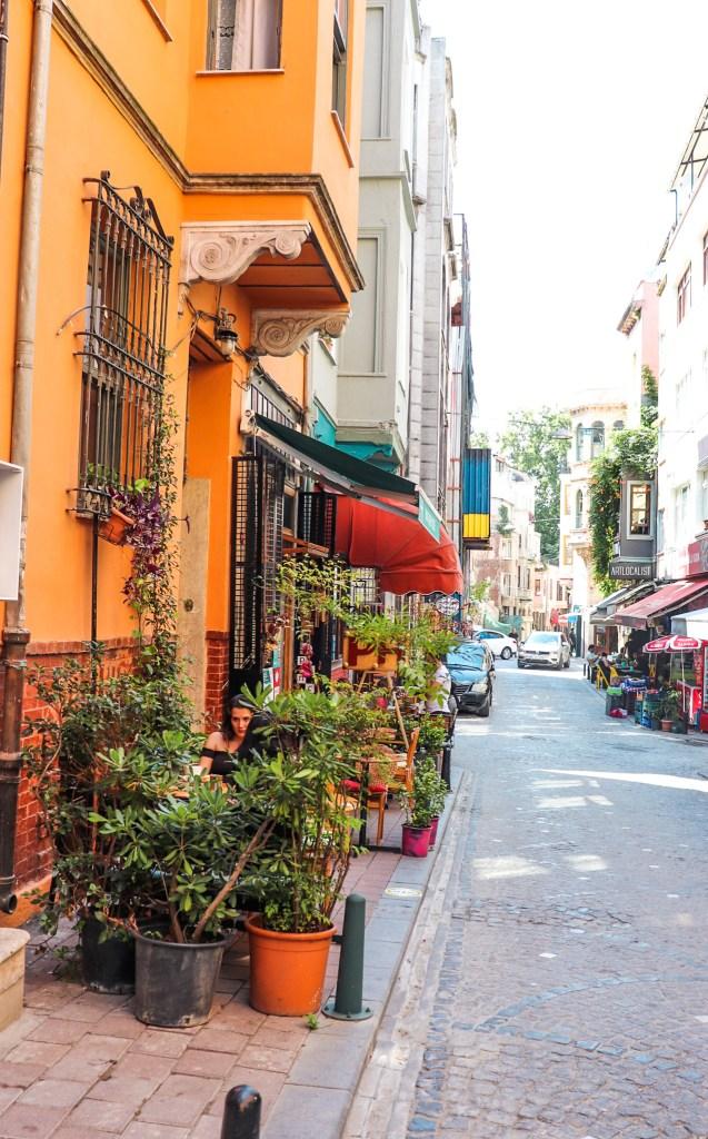 Balat Istanbul Colorful Cafes
