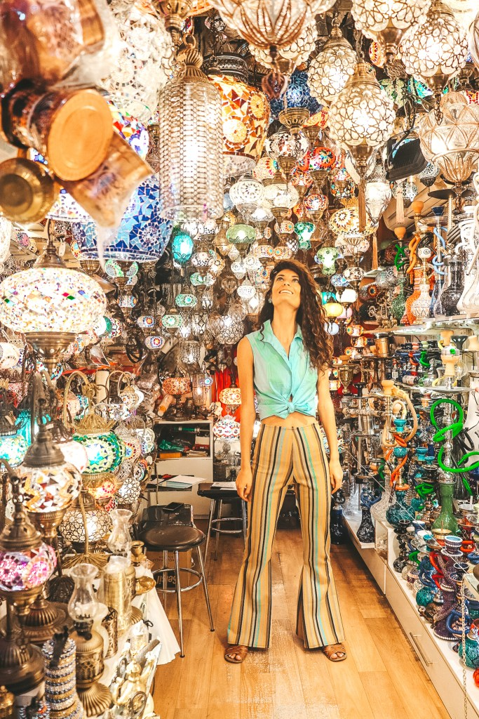 Lanterns at the Grand Bazaar, Istanbul