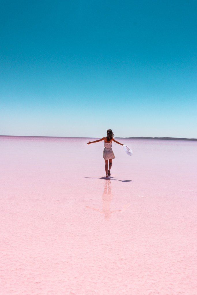 Pink Lake, Tuz Golu, Lake Tuz, Salt Lake Turkey