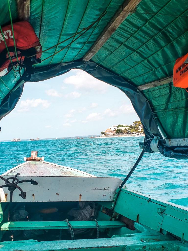 Prison Island Boat Zanzibar