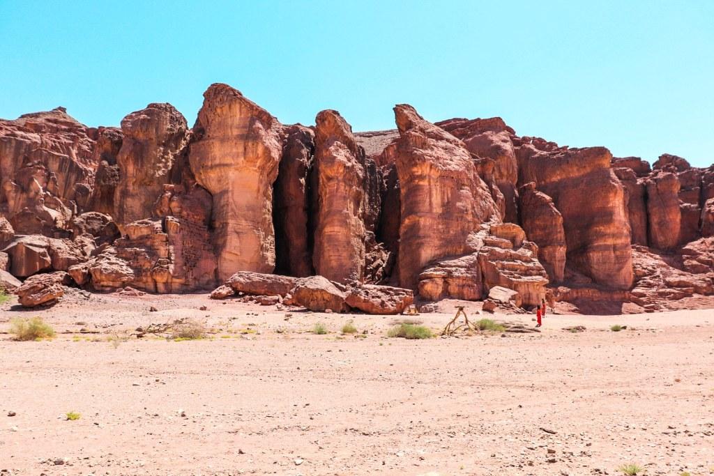Timna Park Israel Desert Solomon's Pillars