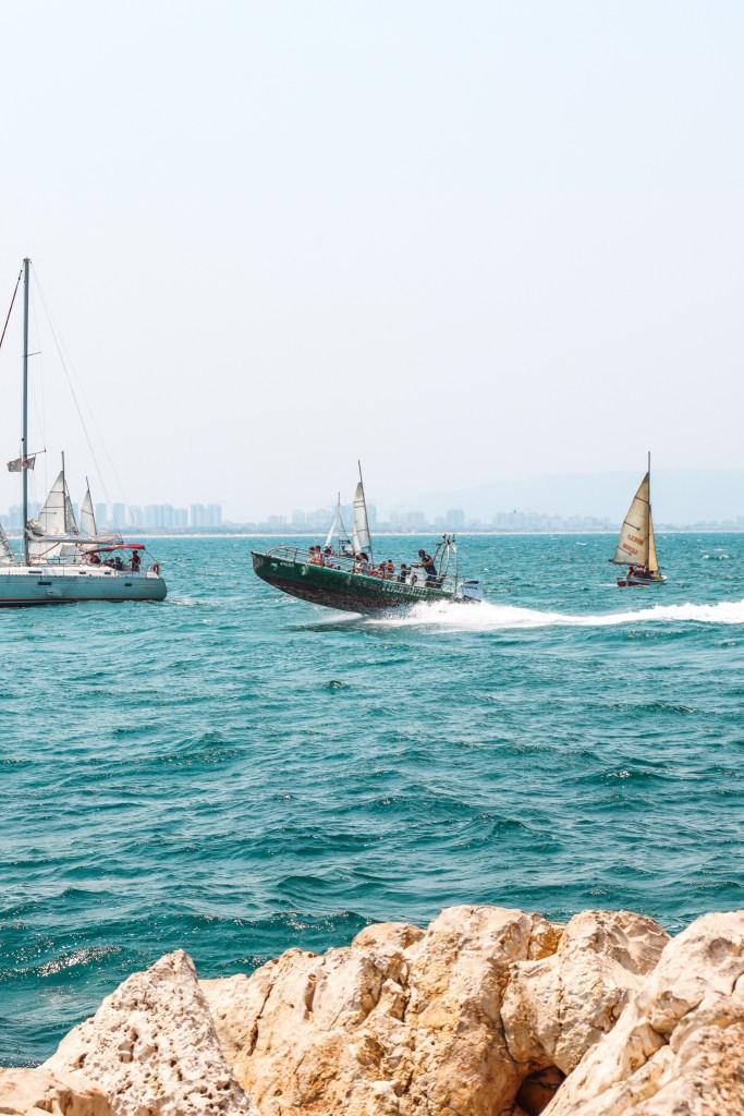 Akko Acre Israel Port Boats