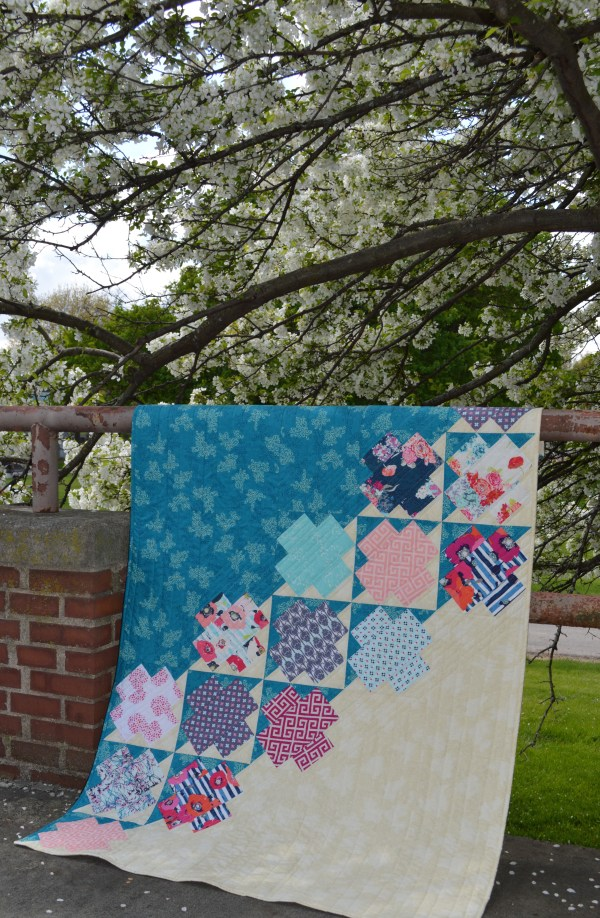 Skopelos Fabric Showcase Quilt - Color Girl Quilts