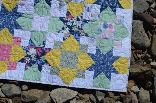 Sketchbook Lucky Baby Quilt - Color Girl Quilts