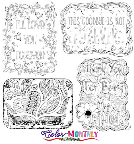 Coloring Our Way Through Mourning & Loss