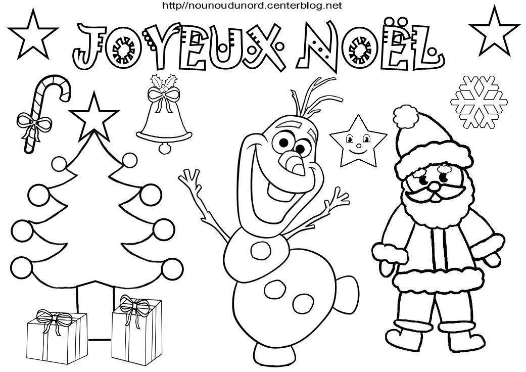 Coloriage A Imprimer Joyeux Noel - Gratuit Coloriage