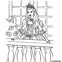 Coloriage Barbie Mousquetaire A Imprimer Gratuit Coloriage A