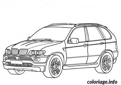 Coloriage Voiture Bmw dessin