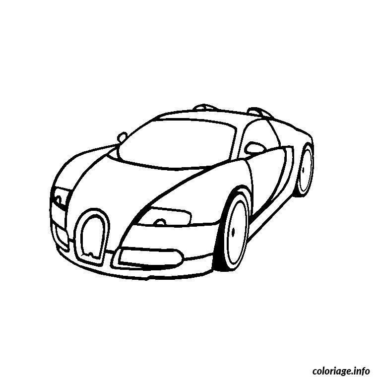 Kleurplaat Lamborghini Veneno