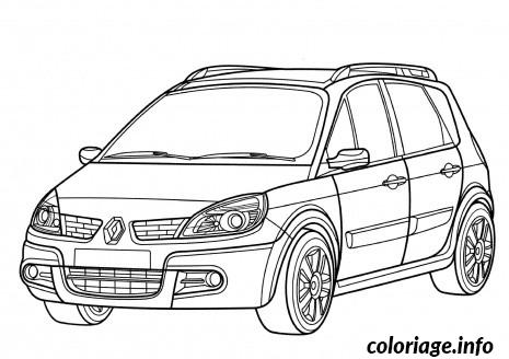 Coloriage Voiture Renault dessin