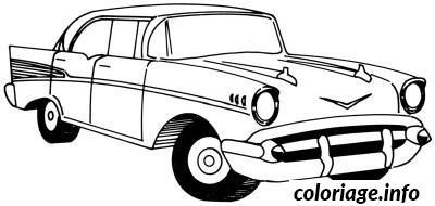 Coloriage Voiture Ancienne dessin
