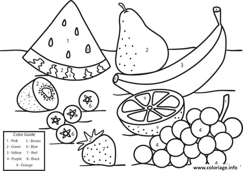 Coloriage Fruit 74 dessin