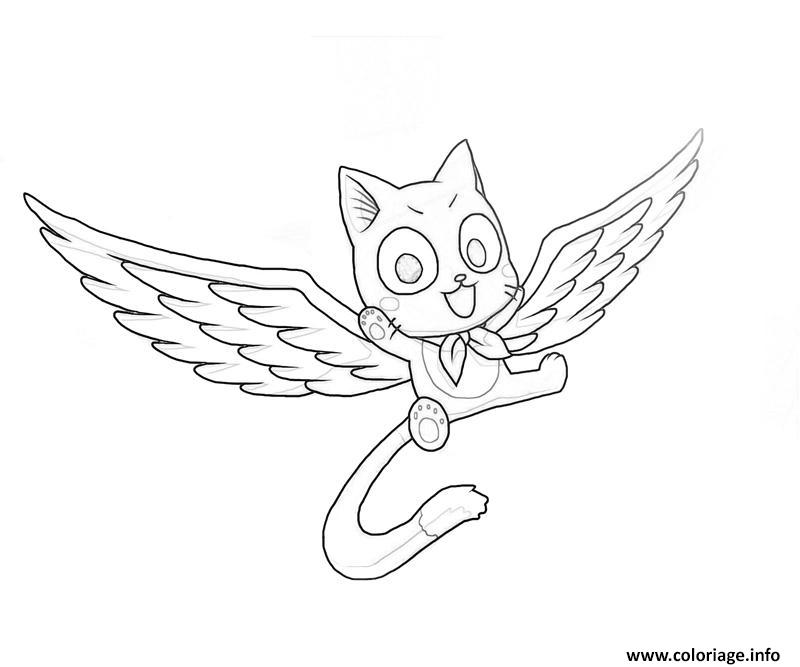 Coloriage Fairy Tail Manga 20 dessin